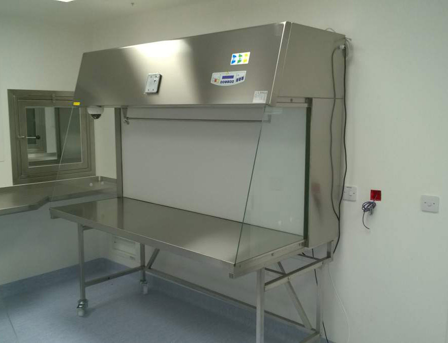 Laminar flow cabinet fully made in stainless steel