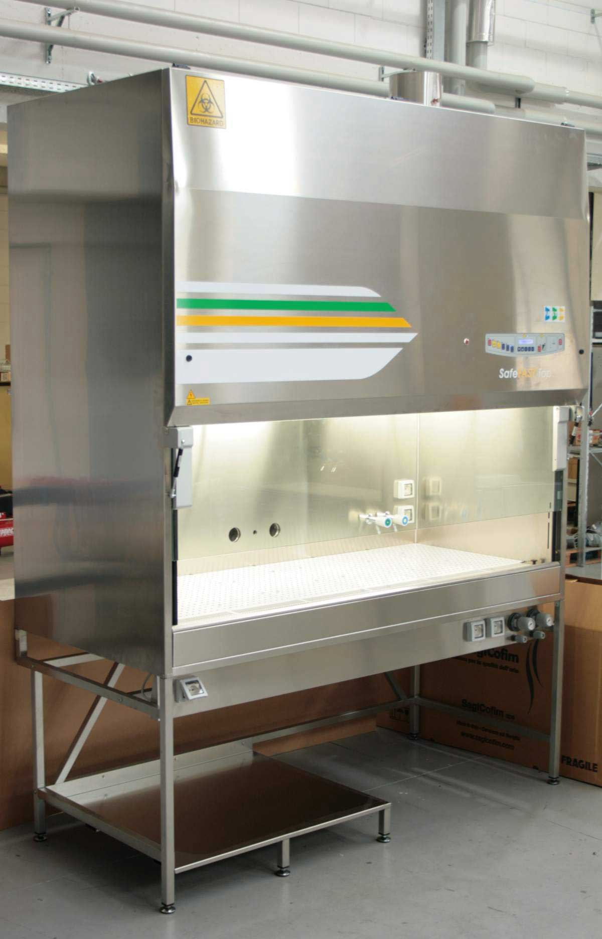 Microbiological safety cabinet ATEX version